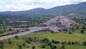 Aztec Ruins in Mexico