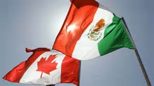 Mexican and Canadian colors