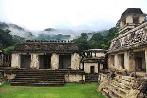 Ruins at Palenque