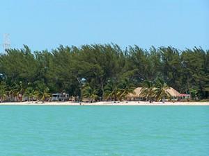 Beach in Campeche