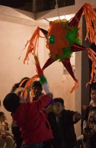 Children Celebrating the Posadas
