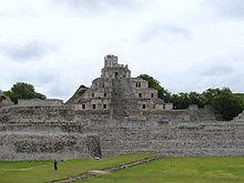 Edzna Site in Campeche