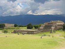 Monte Alban Temple in Oaxaca